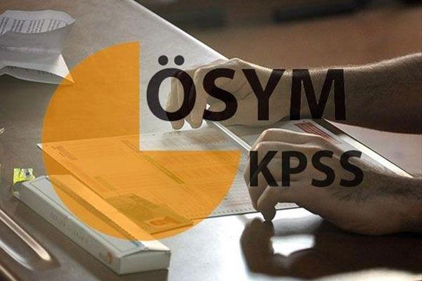 KPSS giriş belgeleri erişime açıldı