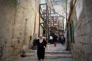 Kudüs'te 40 ev çökebilir