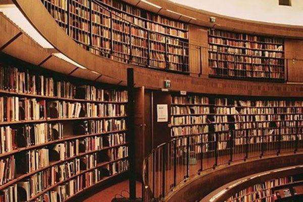 Kütüphaneyi havaya uçurdular