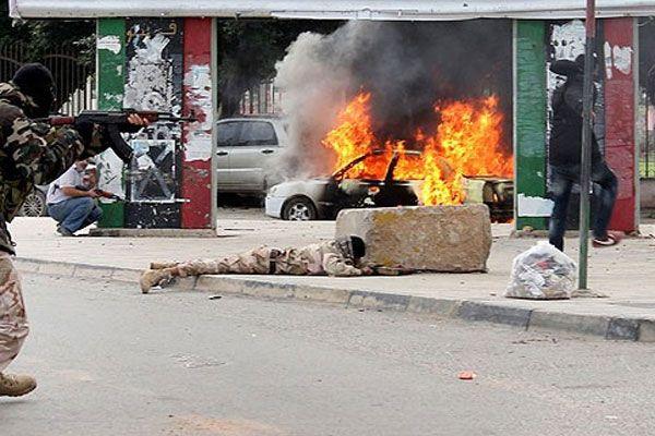 Libya'da çatışma, 4 ölü 30 yaralı