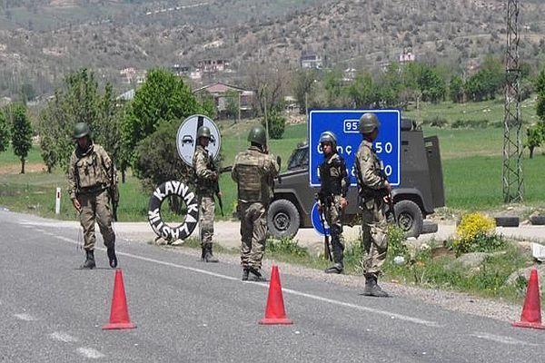 Lice yeniden karıştı, 9 asker yaralı