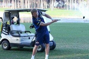 Liderin golf keyfi
