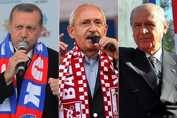 Liderler seçim maratonunda sona geldi