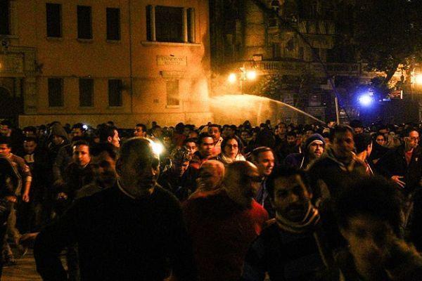 Mısır'da protestoculara müdahale, 2 ölü