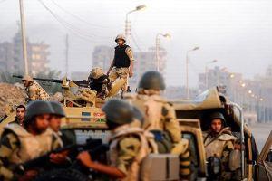 Güvenlik güçleri Mısır'da operasyon düzenledi