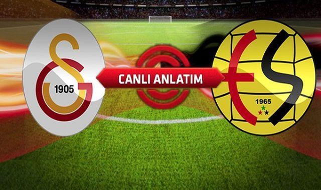 Galatasaray-Eskişehirspor maçı video izle