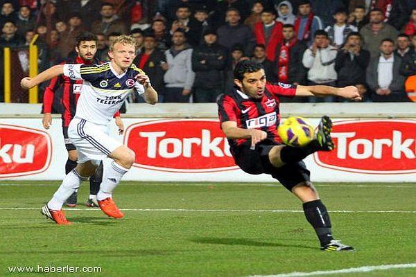 Gaziantepspor - Fenerbahçe maçının muhtemel 11'leri