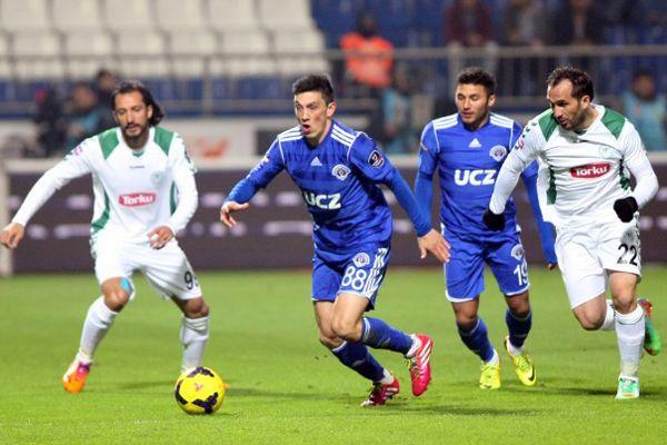 Torku Konyaspor, Kasımpaşa'yı 3-1 yendi