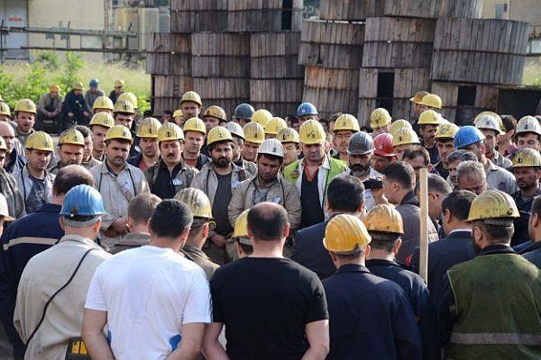 Grizu faciasında ölen madenciler anıldı