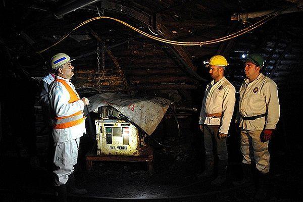 Madenciliği bu kömür ocağında öğreniyorlar