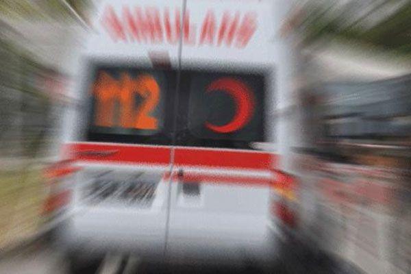 Mahkumları taşıyan araç devrildi, 11 yaralı