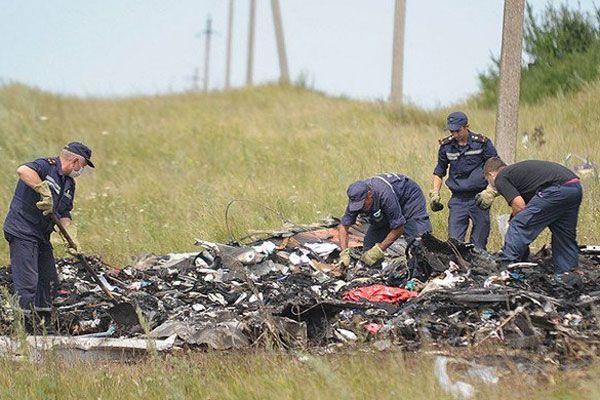 Malezya Havayolları'na ait uçağın düşürüldüğü kesinleşti