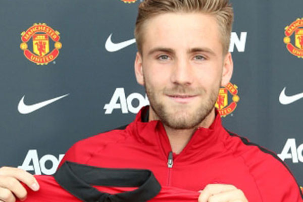 Shaw Manchester United'da