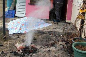 Samsun'da mangal zehirlenmesi, 1 ölü