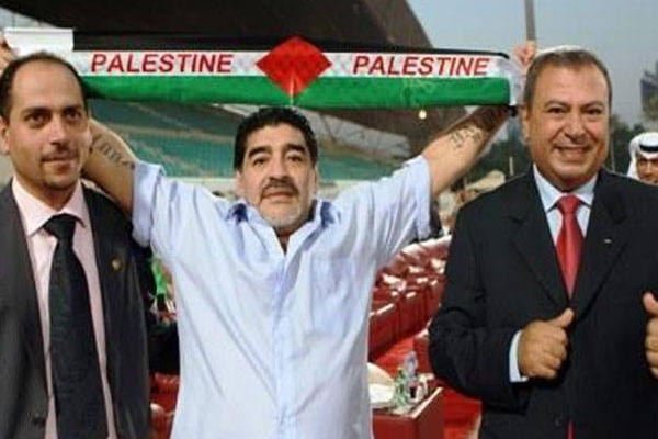 Maradona, Filistin'in başına mı geçiyor