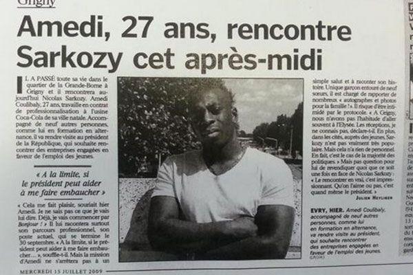 Market saldırganı Coulibaly, Sarkozy'den iş istemiş