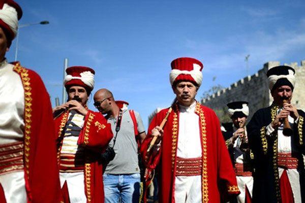 97 yıl aradan sonra Mehter Takımı Kudüs'te konser verdi