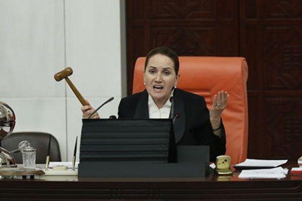 Meral Akşener'i Meclis'te yine çileden çıkardılar