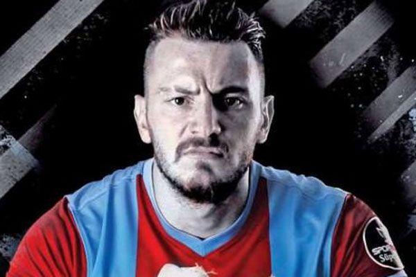 Mermi Trabzonlu futbolcunun tabancasından çıkmış