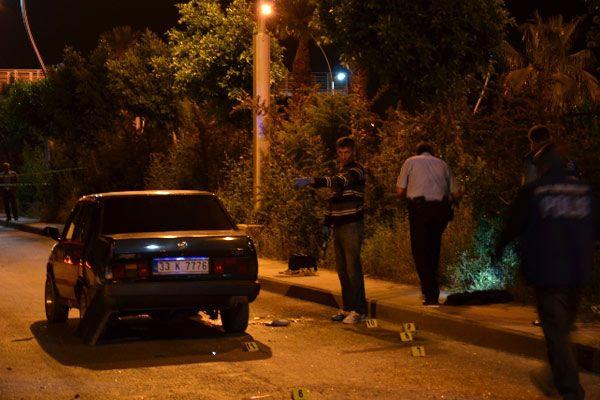 Mersin'de silahlı çatışma, 2 ölü