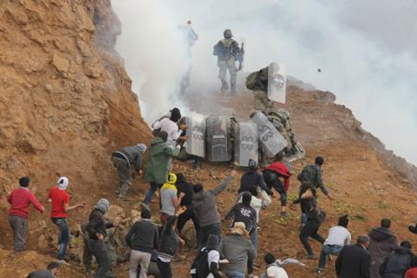 Meskan Dağı'nda askerden 1 Mayıs müdahalesi