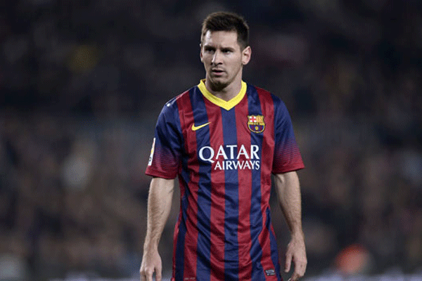 Messi'ye rekor ceza