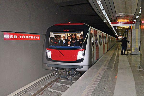 Ankara yeni metro hattına yarın kavuşuyor