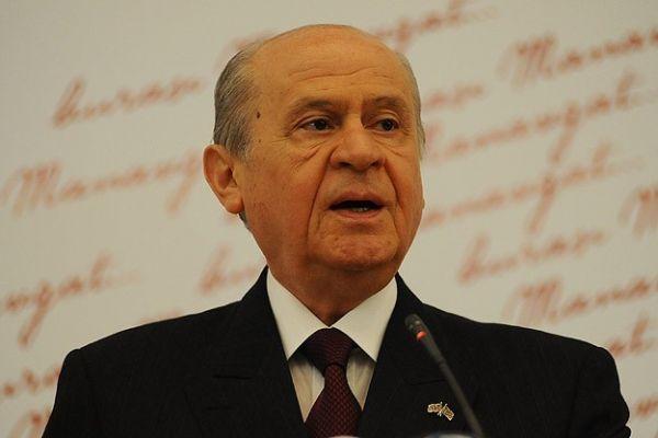 MHP Genel Başkanı Bahçeli'den tahliye açıklaması