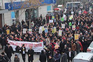 'Milli İradeye Saygı' için yürüdüler