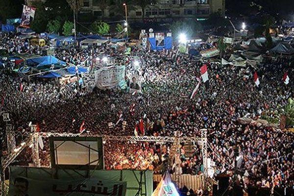 9 ay sonra Adeviyye Meydanı'nda eylem