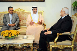 BAE'den Mısır'a destek