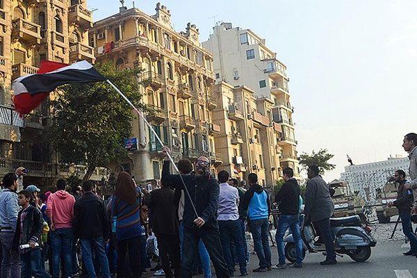 Mübarek hakkındaki beraat kararlarına protesto
