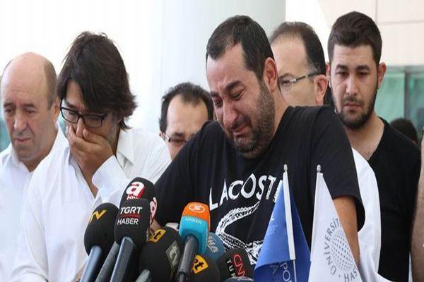 Murat Göğebakan'ın kardeşi gözyaşlarına boğuldu