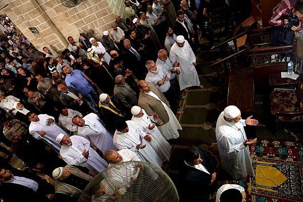 Madenciler için Gazze'de gıyabi cenaze namazı kılındı