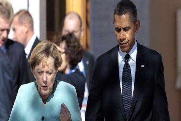 Obama, Merkel'in bu bölgeye girmeleri yasak