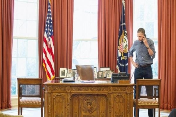 Obama'dan Putin'e 'Gözdağı Pozu'
