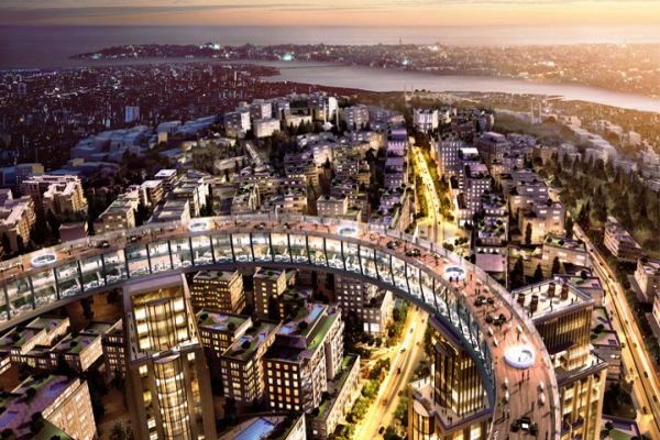 İstanbul'a yeni çılgın proje