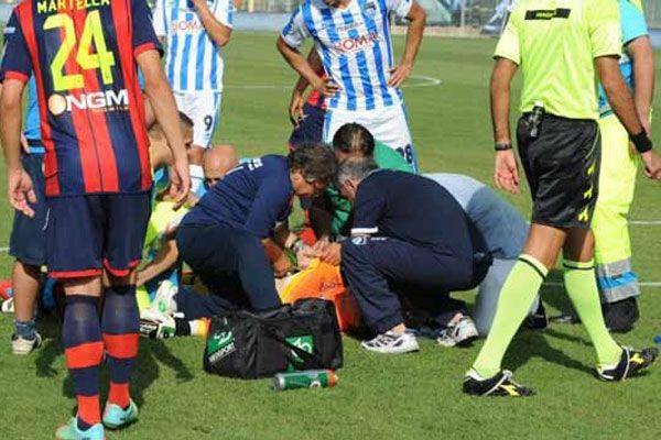 Pescara kalecisi Caio Secco, ölümden döndü