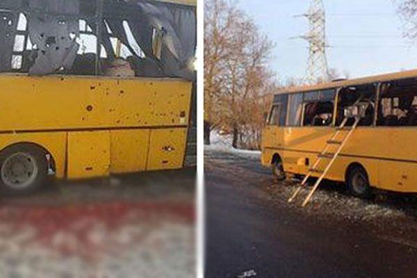 Otobüse füzeli saldırı, 10 kişi öldü 13 kişi yaralandı