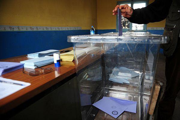 İşte oy verme işlemini ilk bitiren yer