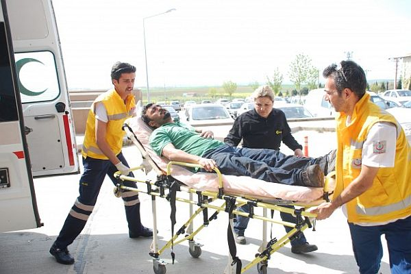 Tekirdağ'da döküm fabrikasında patlama, 2 yaralı
