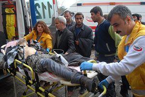 Cerablus'ta bomba yüklü araçta patlama