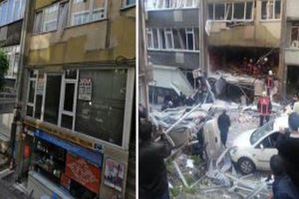 Taksim'deki patlama öncesi ve sonrası 'o bina'