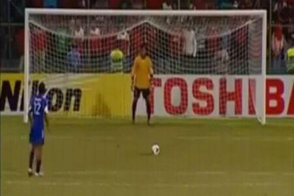 İşte dünyanın en komik penaltısı- İZLE