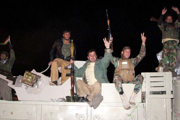 Peşmergelerden bazıları, Kobani yolunda firara kalkıştı