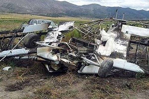 Paraşütçüleri taşıyan uçak düştü! Çok sayıda ölü var