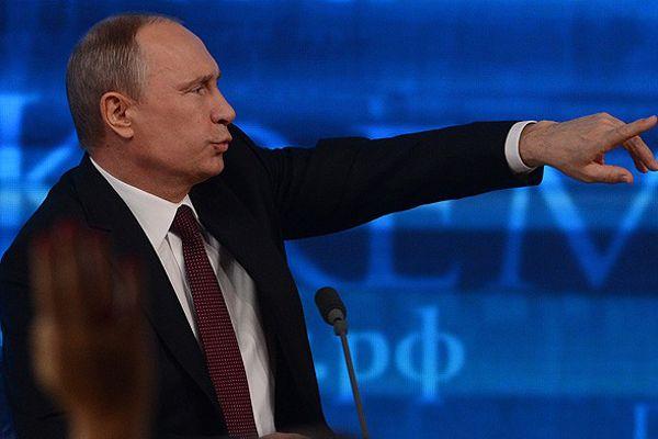 Putin Kırım için yetki istedi