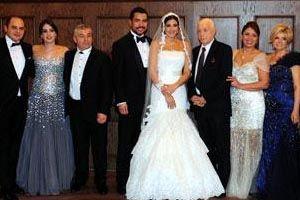 Rıza Çalımbay'ın kızı evlendi