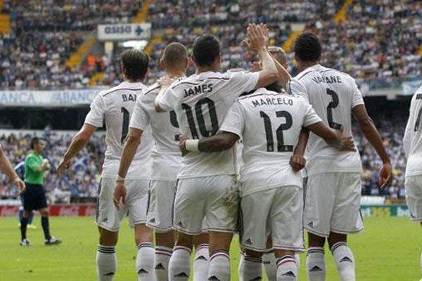 Real Madrid Deportivo'ya gol oldu yağdı