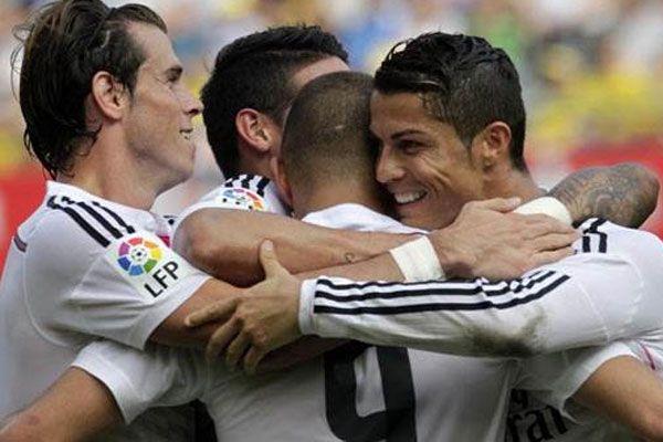 Real Madrid ilk yarıda bitirdi